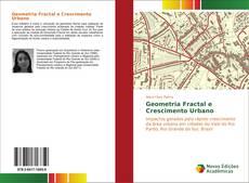 Capa do livro de Geometria Fractal e Crescimento Urbano