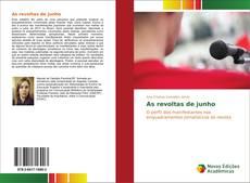 Bookcover of As revoltas de junho