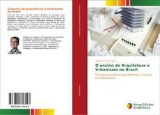 Portada del libro de O ensino de Arquitetura e Urbanismo no Brasil