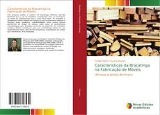 Capa do livro de Características da Bracatinga na Fabricação de Móveis