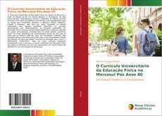 Capa do livro de O Currículo Universitário da Educação Física no Mercosul Pós Anos 80