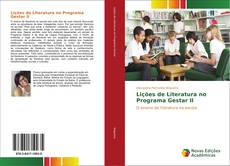 Capa do livro de Lições de Literatura no Programa Gestar II