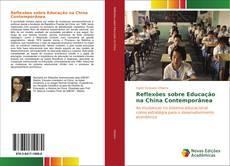 Copertina di Reflexões sobre Educação na China Contemporânea