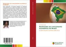 Capa do livro de Restrições ao crescimento econômico no Brasil