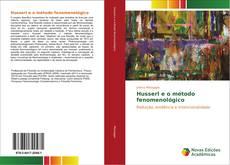 Couverture de Husserl e o método fenomenológico