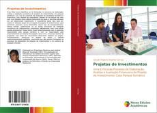 Capa do livro de Projetos de Investimentos