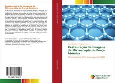 Buchcover von Restauração de Imagens de Microscopia de Força Atômica