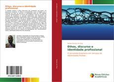 Capa do livro de Ethos, discurso e identidade profissional