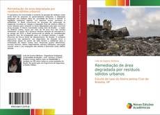 Bookcover of Remediação de área degradada por resíduos sólidos urbanos