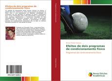 Buchcover von Efeitos de dois programas de condicionamento físico