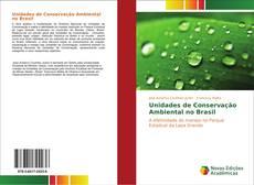 Capa do livro de Unidades de Conservação Ambiental no Brasil