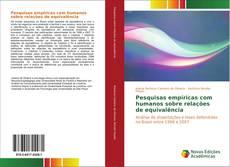 Capa do livro de Pesquisas empíricas com humanos sobre relações de equivalência