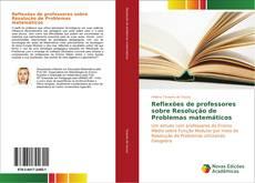 Portada del libro de Reflexões de professores sobre Resolução de Problemas matemáticos