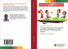 Capa do livro de Inclusão Escolar e Formação Profissional em Educação Física