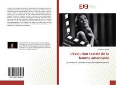 Обложка L'évolution sociale de la femme américaine