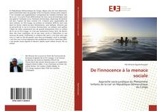Bookcover of De l'innocence à la menace sociale