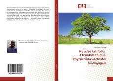 Nauclea latifolia : Ethnobotanique-Phytochimie-Activités biologiques kitap kapağı