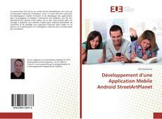 Couverture de Développement d'une Application Mobile Android StreetArtPlanet