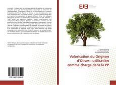 Buchcover von Valorisation du Grignon d'Olives : utilisation comme charge dans le PP