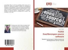 Portada del libro de FLOSS free/libre/open-source software