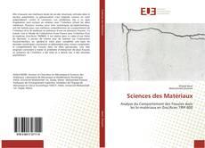 Bookcover of Sciences des Matériaux