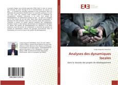 Couverture de Analyses des dynamiques locales
