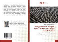 Capa do livro de Intégration des énergies renouvelables en Afrique Subsaharienne