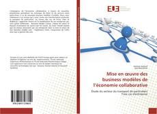 Couverture de Mise en œuvre des business modèles de l'économie collaborative