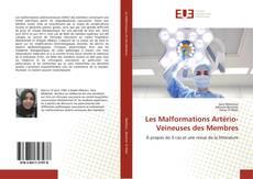 Les Malformations Artério-Veineuses des Membres kitap kapağı