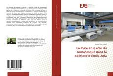 Couverture de La Place et le rôle du romanesque dans la poétique d'Émile Zola