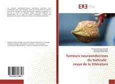 Couverture de Tumeurs neuroendocrines du testicule: revue de la littérature