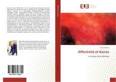 Buchcover von Affectivité et Kairos