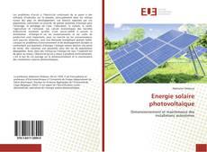 Capa do livro de Energie solaire photovoltaïque