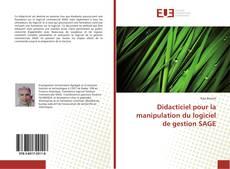 Couverture de Didacticiel pour la manipulation du logiciel de gestion SAGE