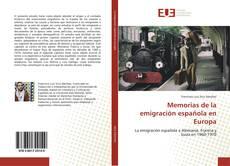 Portada del libro de Memorias de la emigración española en Europa