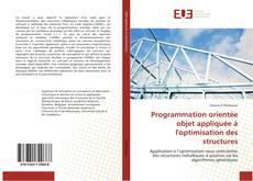 Copertina di Programmation orientée objet appliquée à l'optimisation des structures