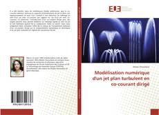 Bookcover of Modélisation numérique d'un jet plan turbulent en co-courant dirigé