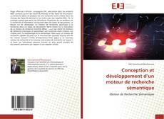 Buchcover von Conception et développement d'un moteur de recherche sémantique