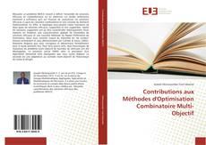 Contributions aux Méthodes d'Optimisation Combinatoire Multi-Objectif kitap kapağı