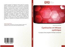 Bookcover of Cystinuries et lithiase cystinique