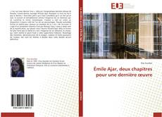 Borítókép a  Émile Ajar, deux chapitres pour une dernière œuvre - hoz