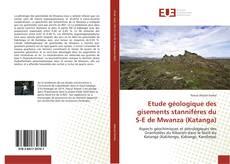 Portada del libro de Etude géologique des gisements stannifères du S-E de Mwanza (Katanga)