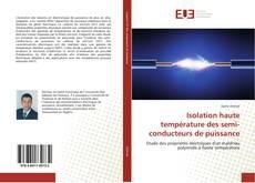 Isolation haute température des semi-conducteurs de puissance kitap kapağı