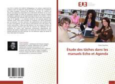 Étude des tâches dans les manuels Echo et Agenda kitap kapağı