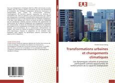 Portada del libro de Transformations urbaines et changements climatiques