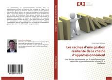 Buchcover von Les racines d'une gestion résiliente de la chaîne d'approvisionnement