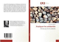 Buchcover von Pratiquer les solidarités