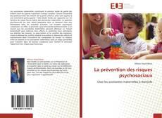 Couverture de La prévention des risques psychosociaux