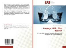 Portada del libro de Langage HTML: Bien débuter