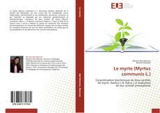 Capa do livro de Le myrte (Myrtus communis L.)